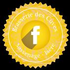 Suivez bière Brasserie des Cuves sur Facebook
