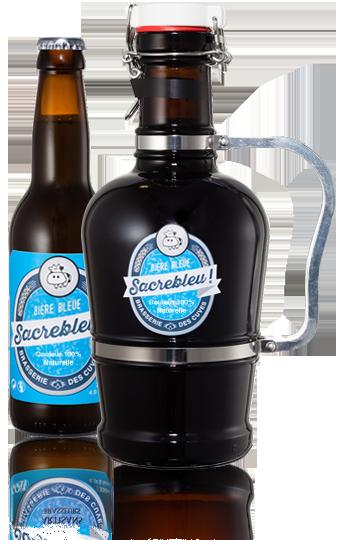 bière bleue Sassenage