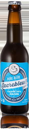 bière bleue Sassenage 33 cl