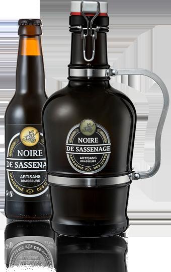 bière noire de la Brasserie des Cuves