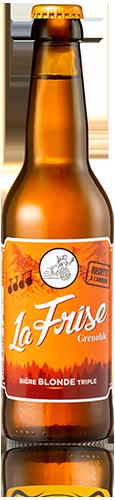 bière la Frise de Grenoble par la Brasserie des Cuves 33 cl